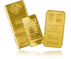 Monex Gold Bullion Prices