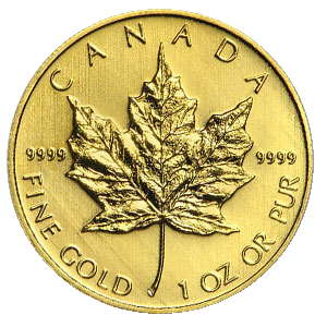 Gold Canadian Maple Leaf Price